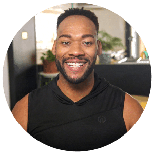Health, Fitness, and Fashion Influencer Deandre Upshaw profile photo wearing fitness gear