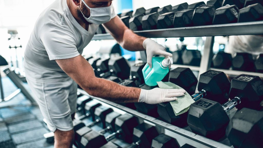 Blockchain Fitness: Gold's Gym Announces New Cleaning Process