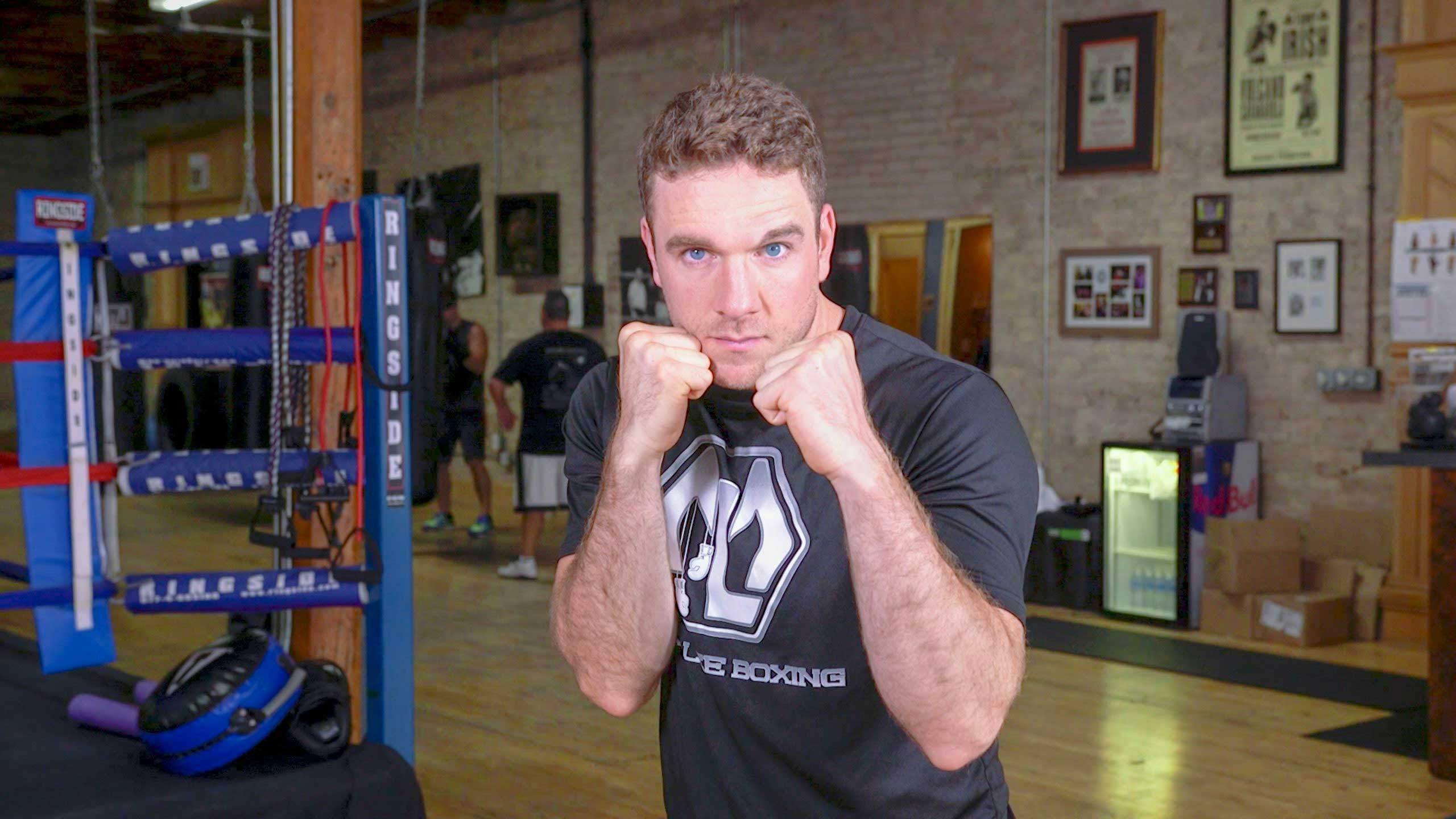 mike lee boxing basics video still